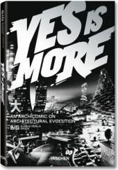 Okładka książki Yes is more. Archicomic on Architectural Evolution Bjarke Ingels