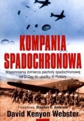 Okładka książki Kompania Spadochronowa David Kenyon Webster