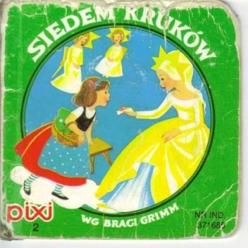 Okładka książki Siedem kruków Jacob Grimm,Wilhelm Grimm