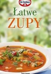 Okładka książki Łatwe zupy August Oetker