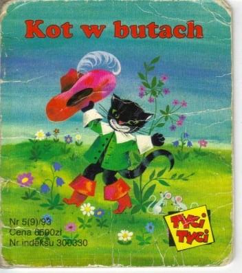 Okładka książki Kot w butach Jacob Grimm,Wilhelm Grimm