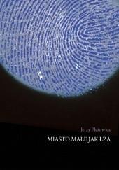 Okładka książki Miasto małe jak łza Jerzy Plutowicz