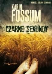 Okładka książki Czarne sekundy Karin Fossum
