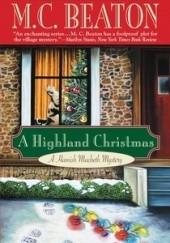 Okładka książki A Highland Christmas M.C. Beaton