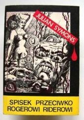 Okładka książki Spisek przeciwko Rogerowi Riderowi Julian Symons