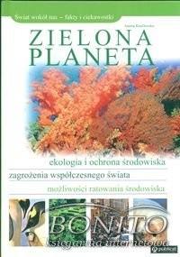 Okładka książki Zielona planeta Joanna Knaflewska