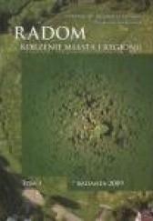 Okładka książki Radom. Korzenie miasta i regionu, Tom I, Badania 2009