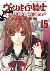 Okładka książki Vampire Knight tom 15 Hino Matsuri