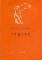 Okładka książki Fabian: Historia pewnego moralisty Erich Kästner