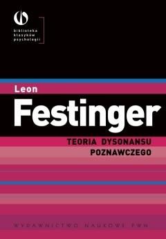 Okładka książki Teoria dysonansu poznawczego Leon Festinger
