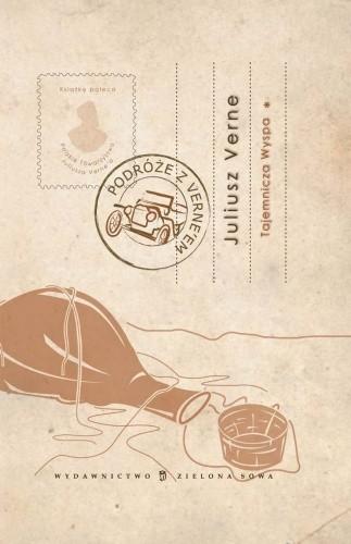 Okładka książki Tajemnicza wyspa I Juliusz Verne