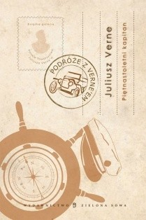Okładka książki Piętnastoletni kapitan Juliusz Verne