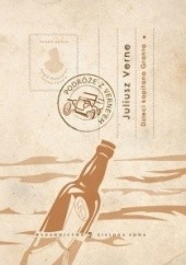Okładka książki Dzieci kapitana Granta, t. I