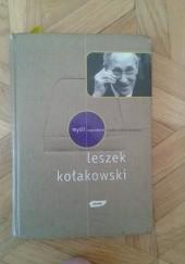 Okładka książki Myśli wyszukane Leszek Kołakowski Andrzej Pawelec