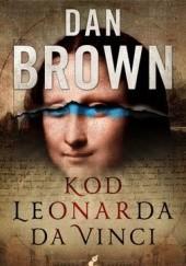 Okładka książki Kod Leonarda da Vinci Dan Brown