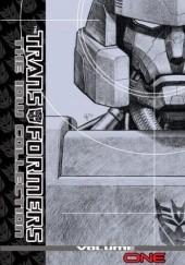 Okładka książki Transformers - The IDW Collection - volume 1 Simon Furman,Eric Holmes,Nick Roche,Shane McCarthy