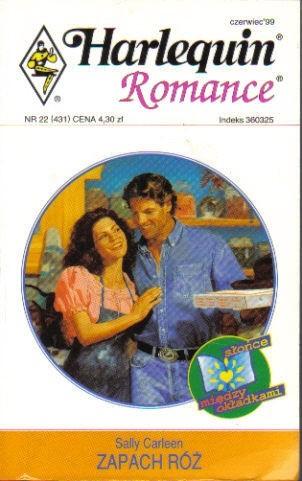 Okładka książki Zapach róż Sally Carleen