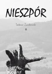 Okładka książki Nieszpór Tadeusz Żuczkowski