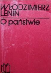 Okładka książki O państwie: Wybór Włodzimierz Lenin