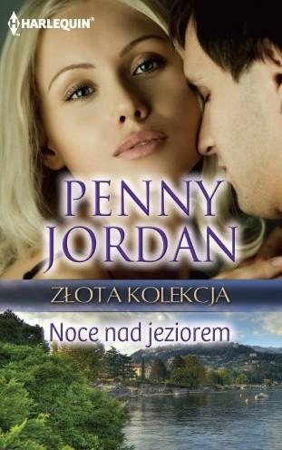 Okładka książki Noce nad jeziorem Penny Jordan