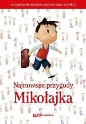 Okładka książki Najnowsze przygody Mikołajka Emmanuelle Lepetit