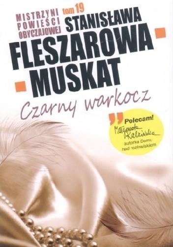 Okładka książki Czarny warkocz Stanisława Fleszarowa-Muskat