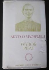 Okładka książki Wybór pism Niccolò Machiavelli
