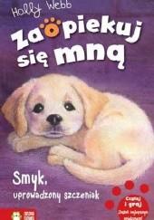 Okładka książki Smyk, uprowadzony szczeniak Holly Webb