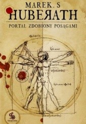 Okładka książki Portal zdobiony posągami Marek S. Huberath