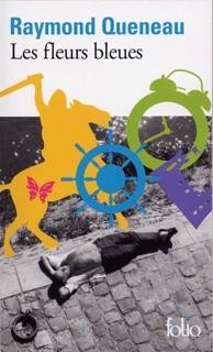 Okładka książki Les fleurs bleues Raymond Queneau