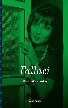 Okładka książki Wywiad z władzą Oriana Fallaci