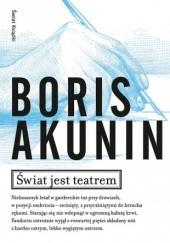 Okładka książki Świat jest teatrem Boris Akunin