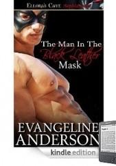 Okładka książki The Man In the Black Leather Mask Evangeline Anderson