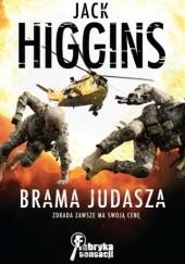 Okładka książki Brama Judasza Jack Higgins