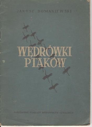 Okładka książki Wędrówki ptaków Janusz Domaniewski