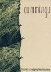 Okładka książki Liryki najpiękniejsze Edward Estlin Cummings