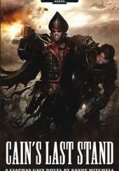 Okładka książki Cains last stand Sandy Mitchell