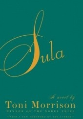 Okładka książki Sula Toni Morrison