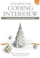 Okładka książki Cracking the Coding Interview: 150 Programming Questions and Solutions Gayle Laakmann McDowell