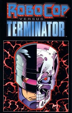 Okładka książki RoboCop versus The Terminator Frank Miller,Walter Simonson