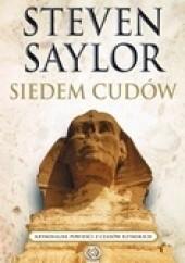 Okładka książki Siedem cudów Steven Saylor