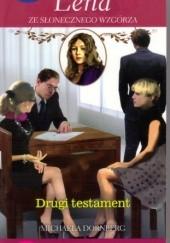 Okładka książki Drugi testament Michaela Dornberg