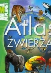 Okładka książki Atlas zwierząt Jinny Johnson
