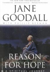 Okładka książki Reason for Hope. A spiritual journey Jane Goodall