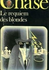 Okładka książki Le requiem des blondes