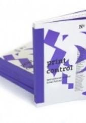 Okładka książki print control no. 1 Redakcja rocznika  Print Control