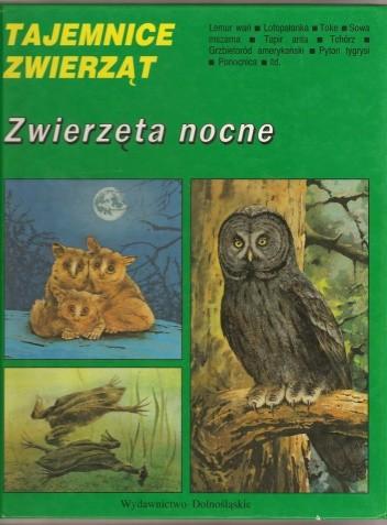 Okładka książki Zwierzęta nocne Hanna Gucwińska,Antoni Gucwiński