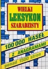 Okładka książki Wielki leksykon szaradzisty Włodzimierz Masłowski