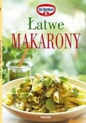 Okładka książki Łatwe makarony August Oetker