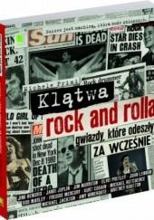 Okładka książki Klątwa rock and rolla. Gwiazdy, które odeszły za wcześnie Michele Primi